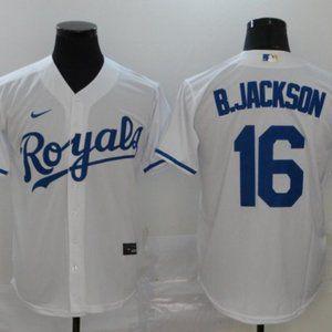 MLB Shirts - Bo Jackson Kansas City Royals Jersey